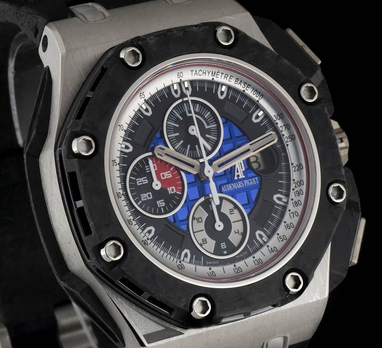 Audemars Piguet Platinum Royal Oak Offshore Grand Prix Wristwatch At