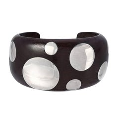 Wood and Silver Cuff, William Spratling