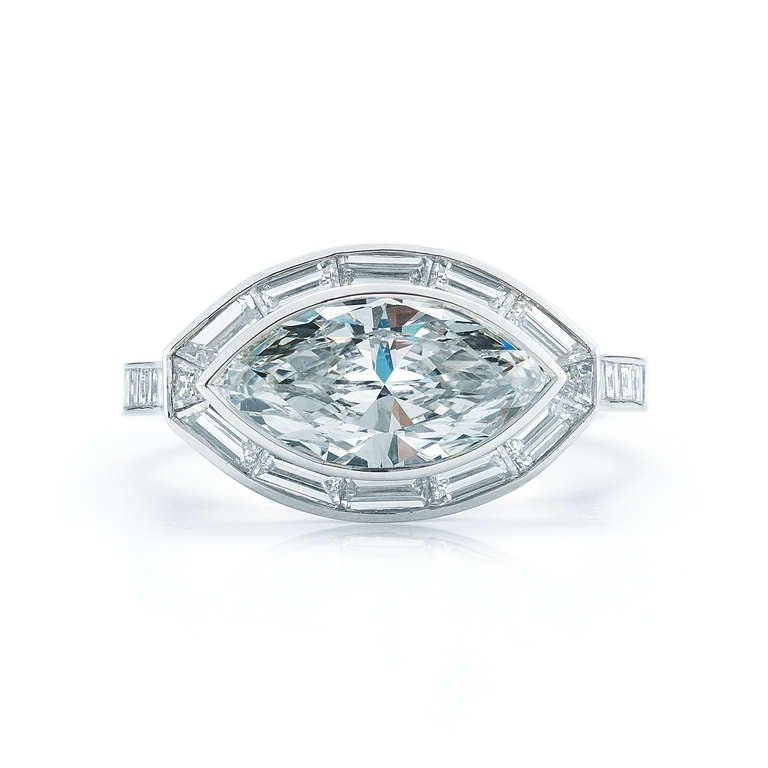 kwiat marquise engagement ring at 1stdibs