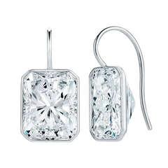12.19 Carat GIA Certified Diamond Earrings