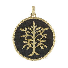 Chaumet Paris Tree of Life Pendant