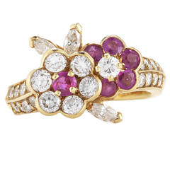 Van Cleef & Arpels Ruby Diamond Ring