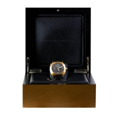 Radiomir Panerai Rose Gold Oro Rosso Mechanical Wristwatch Ref PAM00336