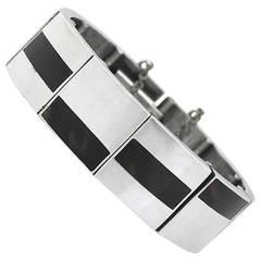 Antonio Pineda Sterling Silver Link Bracelet