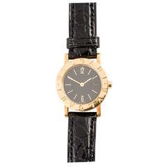 New Bulgari Lady's Yellow Gold Wristwatch