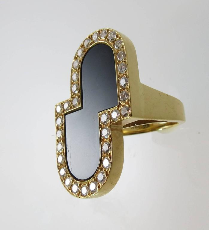 black onyx gold ring for sale at 1stdibs