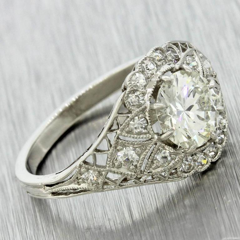 Antique Diamond Engagement Rings For Sale