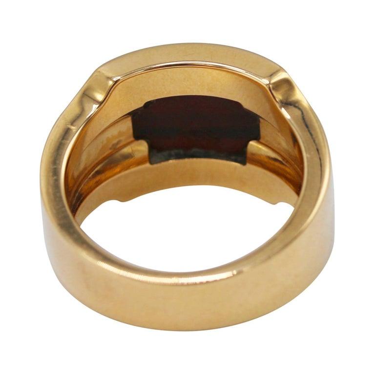 adbd42647306e Cartier Tiger's Eye and Gold Men's Ring