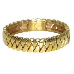 Cartier 'La Dona' Gold Link Bracelet
