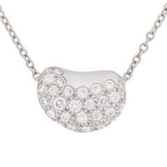 Tiffany & Co. Diamond 'Bean' Pendant