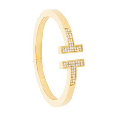 Tiffany & Co. 'T Square' Diamond Bangle