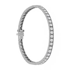 Sophia D Linked Tennis Bracelet with Round Brilliant Diamonds