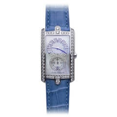 Harry Winston Ladies White Gold Diamond Avenue C Wristwatch