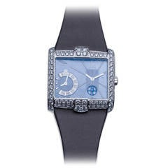 Harry Winston Ladies White Gold Diamond Avenue B Wristwatch