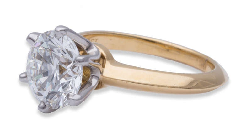 Tiffany & Co. Diamond Solitaire Ring 2
