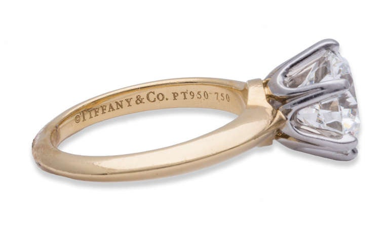 Tiffany & Co. Diamond Solitaire Ring 3