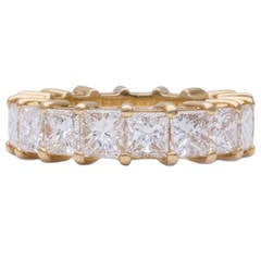 Diamond Gold Eternity Wedding Band