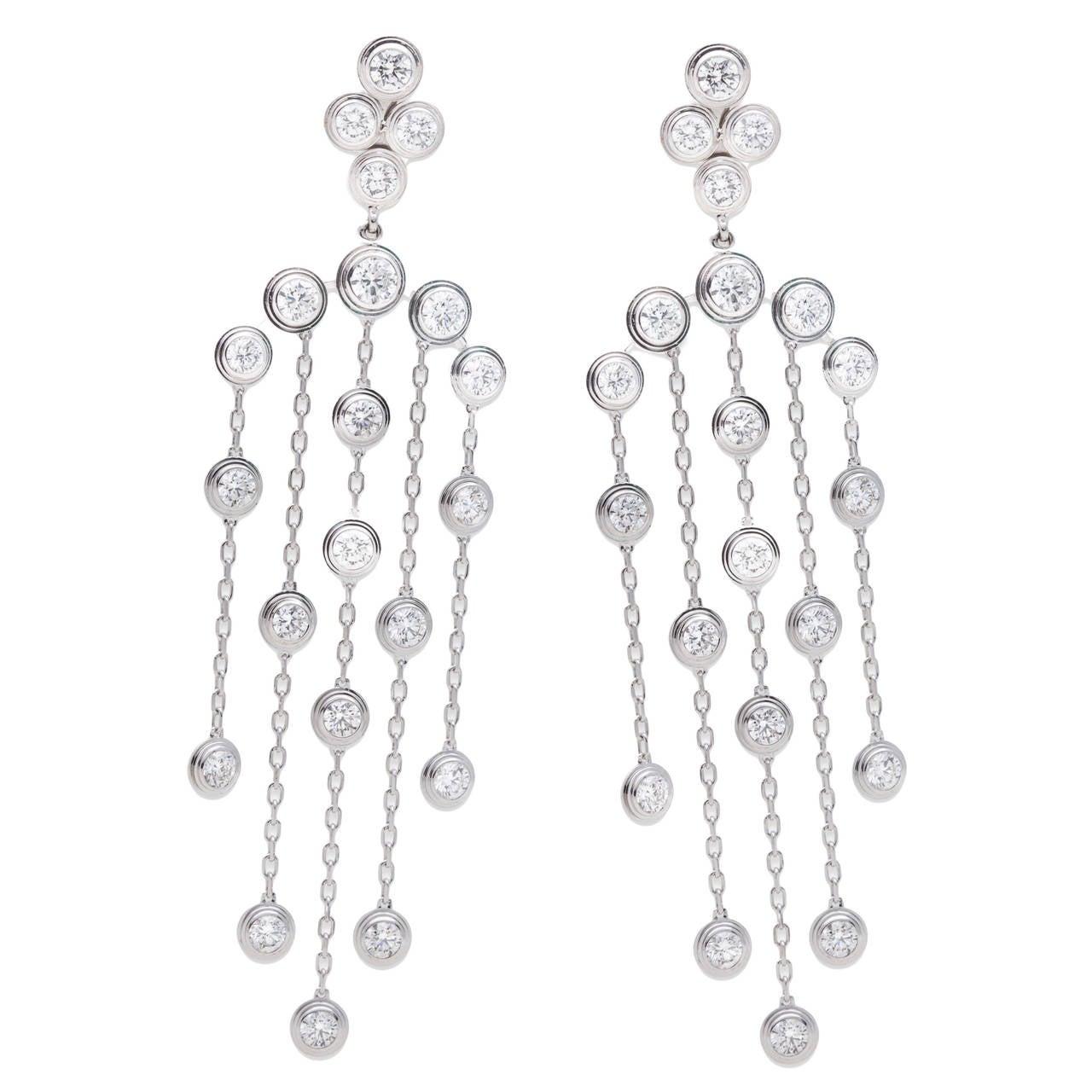 Cartier Diamants Legers De Cartier Earrings