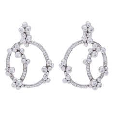 Audemars Piguet Jewellery Millenary Diamond White Gold Earrings