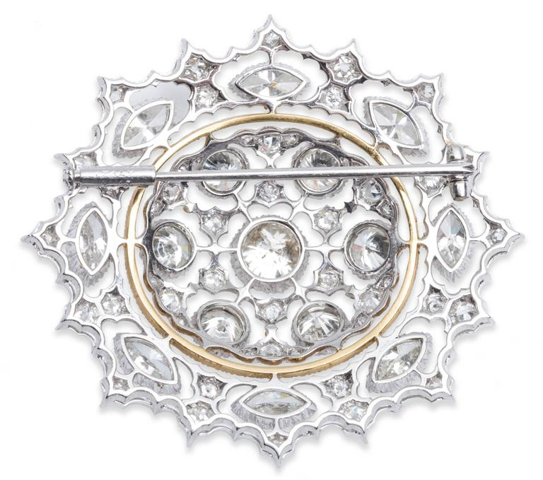 Buccellati Gold  Diamond Brooch Pendant 2