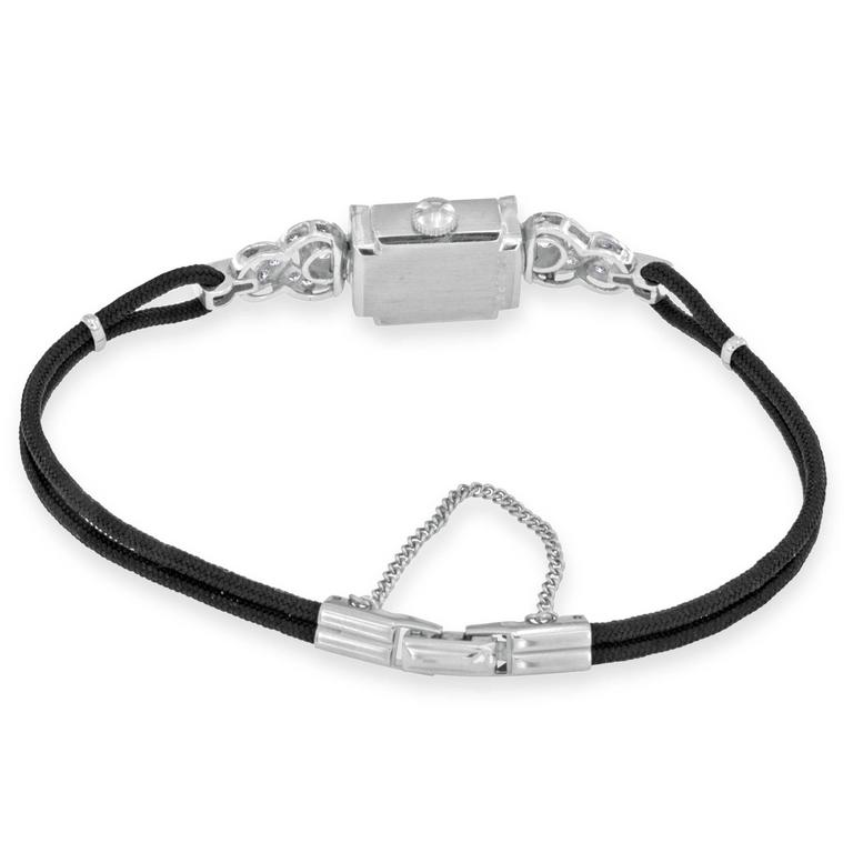Hamilton ladies Platinum Diamond automatic Wristwatch For Sale 1