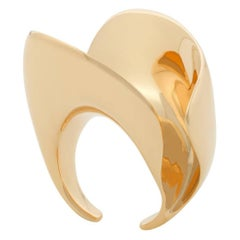 Nathalie Jean Contemporary Rose Gold Limited Edition Sculpture Cocktail Ring