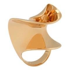 Nathalie Jean 18 Karat Rose Gold Limited Edition Sculpture Cocktail Ring