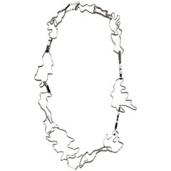 Nathalie Jean Sterling Silver Limited Edition Medium Link Chain Necklace