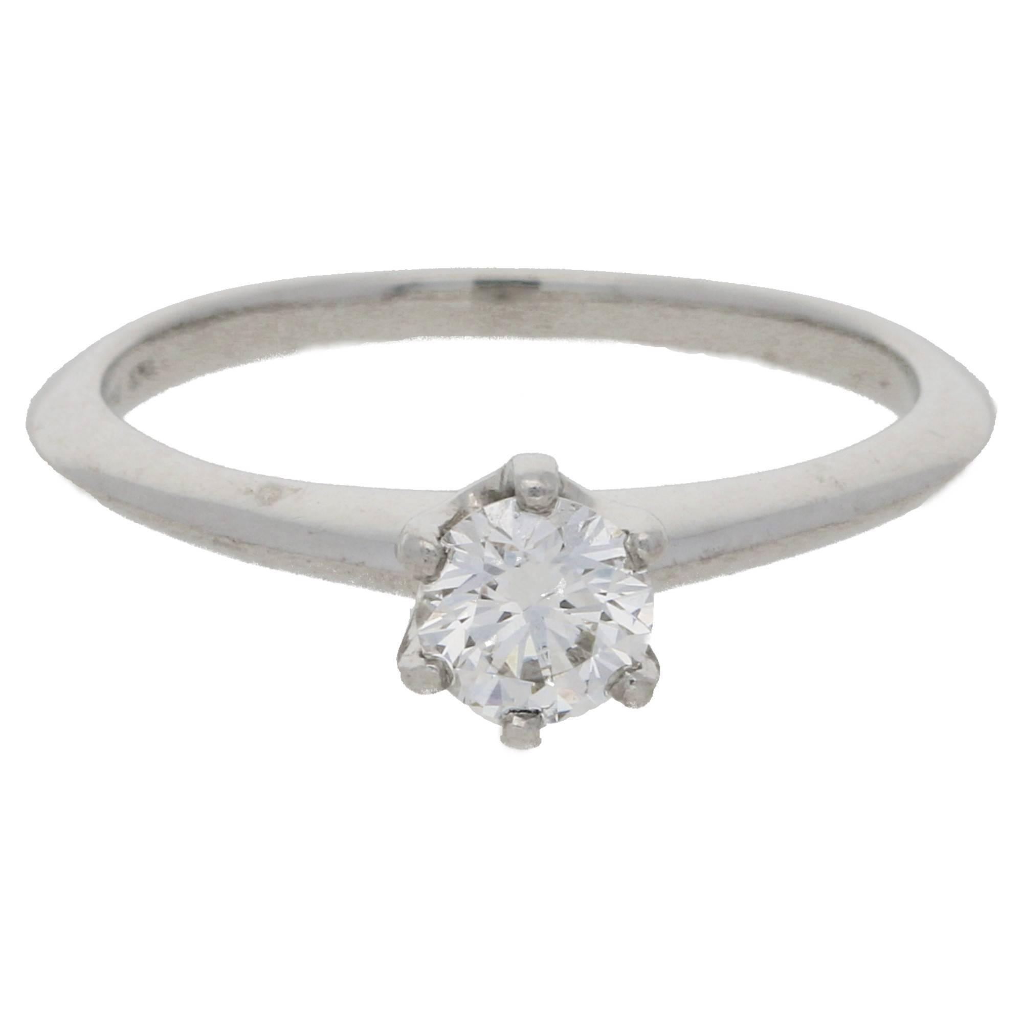 co in diamond rings amp tiffany loading engagement ebay itm image platinum ring fv is ctw