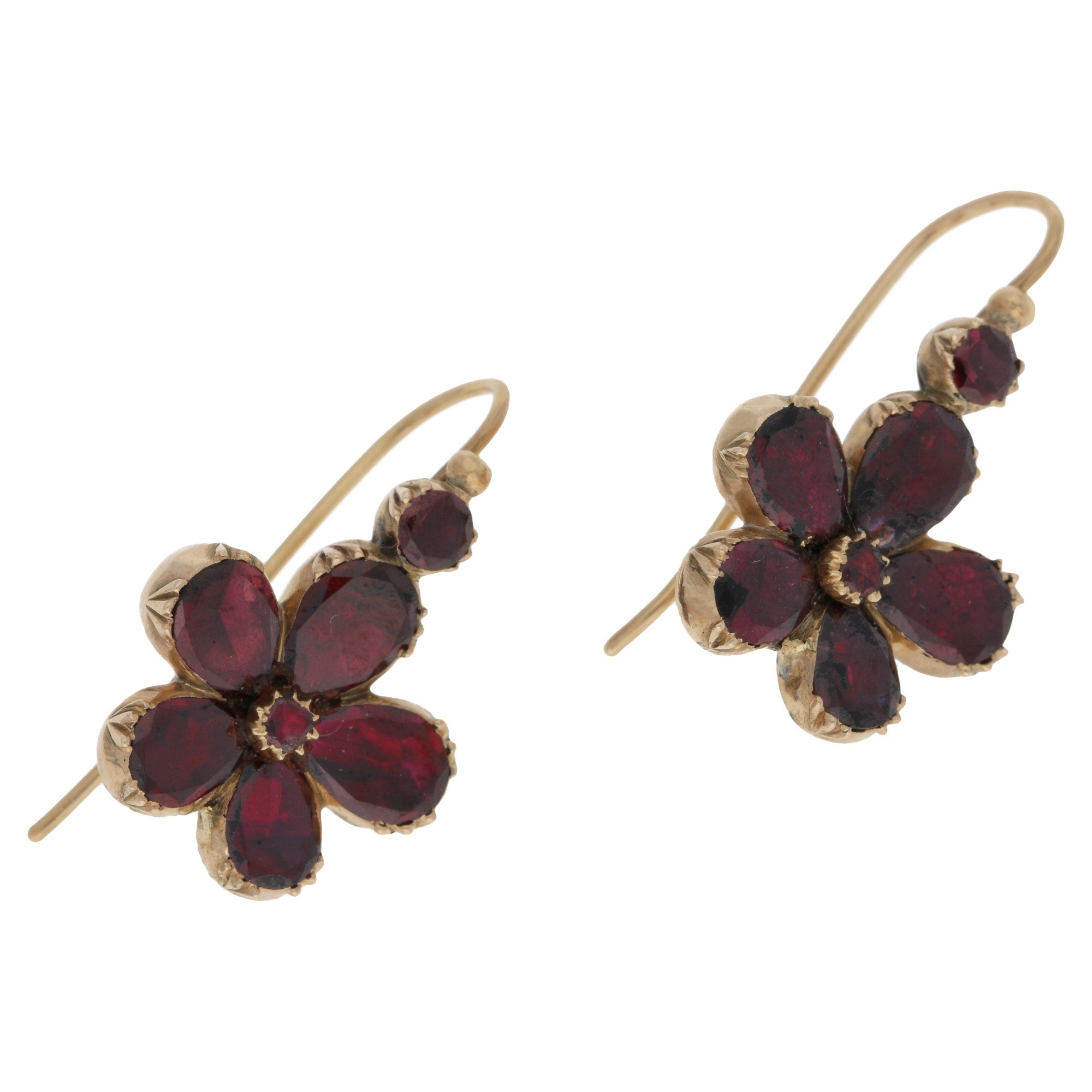 garnet rose new earrings gold jewellery jewelry lindas