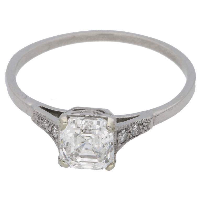 jewel blog lunemo the diamond ring cut week asscher solitaire rings wedding pricescope classic of engagement