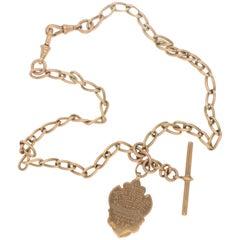 Art Deco Gold Watch Chain