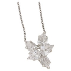 Harry Winston Pear Diamond Necklace