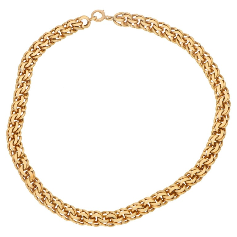 1980s Tiffany & Co. 14 Karat Gold Necklace