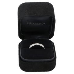 Tiffany & Co. Etoile Diamond Set Platinum Ring