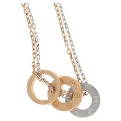 18 Karat Gold Cartier Love Necklace