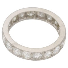 18 Karat Gold Diamond Eternity Ring