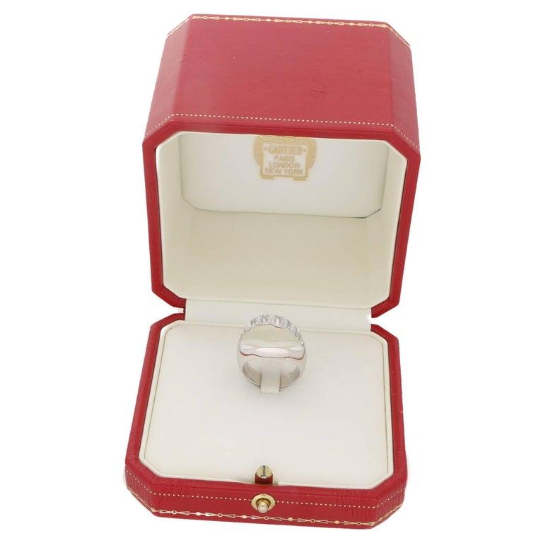 Myst de Cartier Gold Rock Crystal Diamond Ring For Sale 1