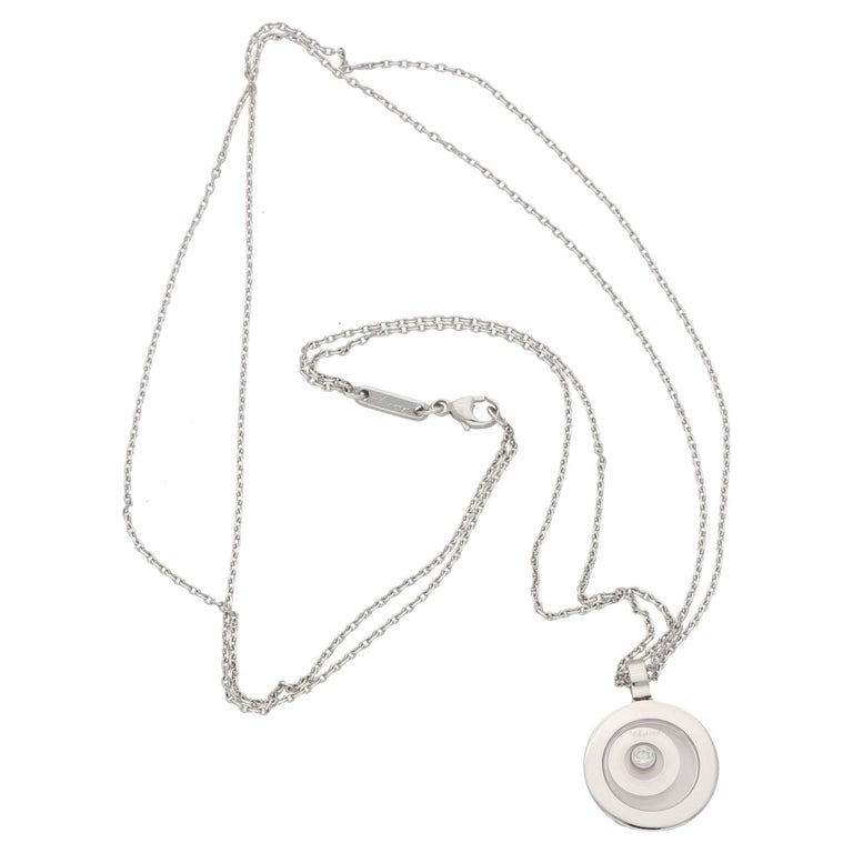 Chopard happy spirit gold diamond pendant for sale at 1stdibs round cut chopard happy spirit gold diamond pendant for sale aloadofball Images