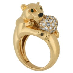 Cartier Panthere Diamond Dress Ring