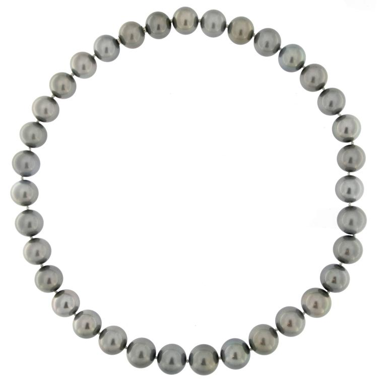 Tahitian Grey Pearl Necklace