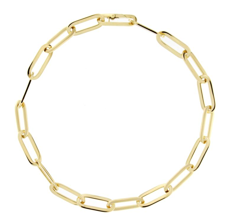 Jona 18k Gold Link Chain Necklace