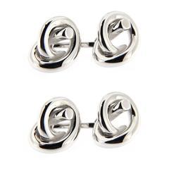 Jona Sterling Silver Knot Cufflinks