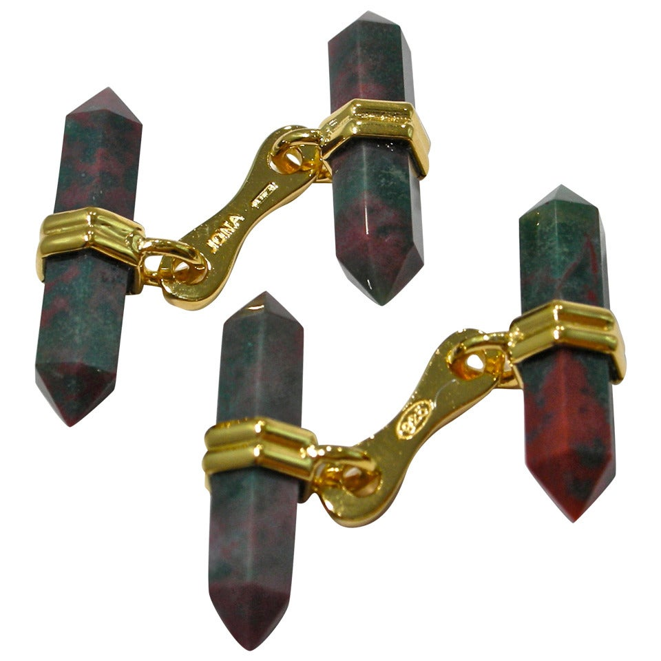 Jona Jasper Prism Bar Cufflinks For Sale
