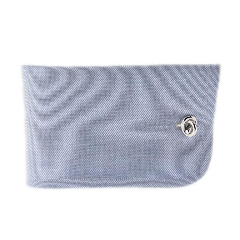 Jona design collection, hand crafted in Italy, Rhodium plated Sterling Silver knot cufflinks. Marked JONA 925.   All Jona jewelry is new and has never been previously owned or worn. Each item will arrive at your door beautifully gift wrapped in Jona