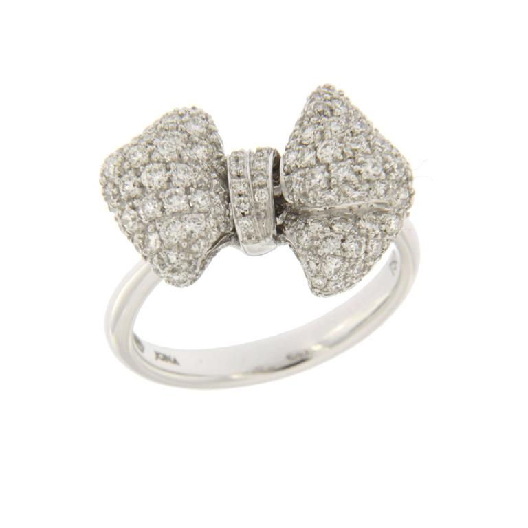 ring online cheap pandora bow rings sale sentiments delicate clearance silver