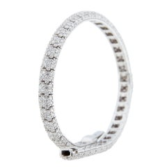 Jona White Diamond 18 Karat White Gold Bracelet