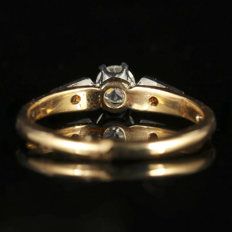 Antique Edwardian Diamond Engagement Ring, circa 1915 3