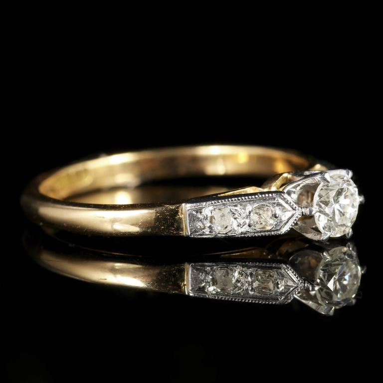 antique edwardian engagement ring circa 1915 for