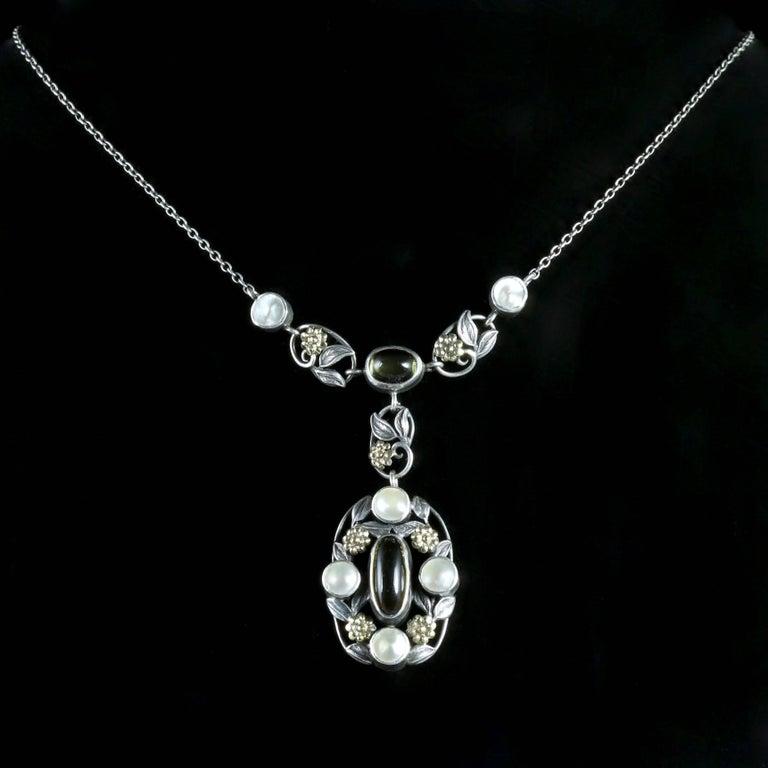 Arts And Crafts Silver William Morris Pendant